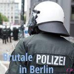 Brutale Polizei in Berlin